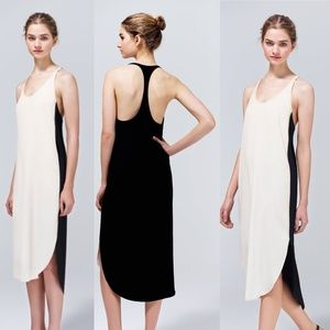 Aritzia Wilfred Colonne Racerback Midi Dress